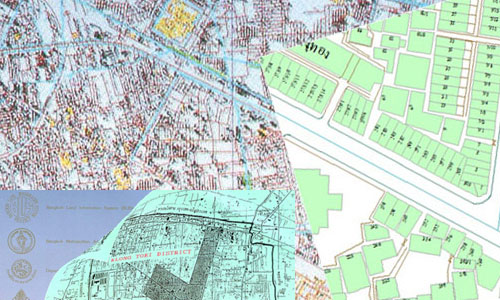 เรื่องเล่าของนักภูมิศาสตร์ ตอน 2 : Bangkok Land Information System (BLIS) โครงการ GIS โครงการแรกของประเทศไทย