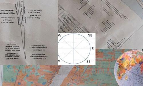 """""""แผนที่"""" แผ่นกระดาษมหัศจรรย์...เครื่องมือช่วยพัฒนาประเทศ ตอนที่ 5 : ทิศเหนืออะไรมี 3 ทิศในแผนที่"""
